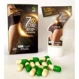 slim obat diet platinum 7 day slim collagen original asli