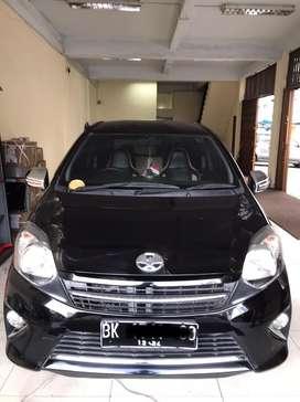 Toyota Agya G mt 2014akhir (1tgndr baru)