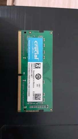 8GB ram DDR4 laptop ram brand new