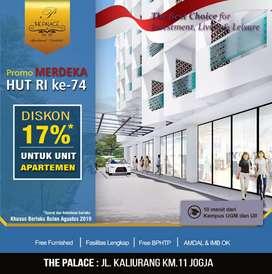 Bagimu Kupang! Investasi Dgn Hasil Maximal Ada di Apartemen The Palace