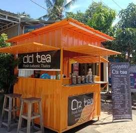 cicilan container booth untuk jualan anda,kirim se indonesia