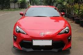 Toyota FT86 TRD Sportivo AT Merah 2019 - Unit Baru harga bekas