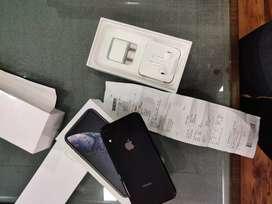Apple iPhone XR - black - 64gb - Gst bill - 4 month apple warranty