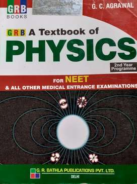 GRB a textbook of PHYSICS for class 12
