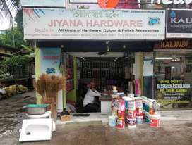 6.5lakh security Paints & hardware shop For sale