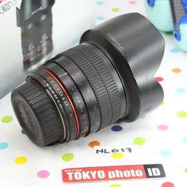 Lensa Nikon Samyang 10mm f2.8 Fisheye