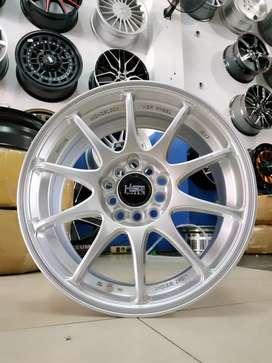 Jual velg racing HSR Ring 16 Buat mobil Ertiga, sienta, (bisa credit)