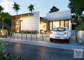 2BHK Villa For Sale in Angadippuram