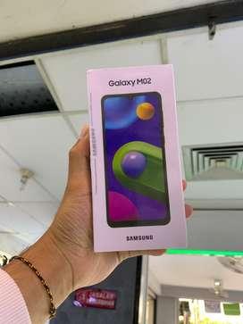 Samsung M02 2/32 Blue NewARRIVAL BNIB Bergaransi Resmi 1tahun Termurah