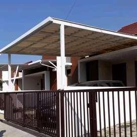 6 canopy rangka tunggal atapnya alderon rs masa kini