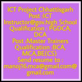ICT Instructor government high school