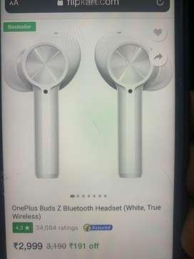 Sealed / new : Oneplus buds z & mi smart speaker
