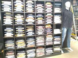 Required salesmen helper and manager for readymade garment showroom