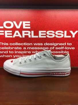 Sepatu converse tipe love fearless size 39
