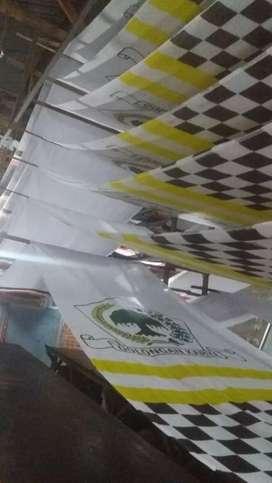 Umbul umbul - spanduk kain dan bendera / giant flag
