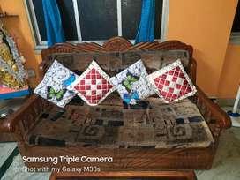 Sofa cum bed teak wood