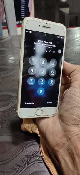 Iphone 6 gold 32 gb Only cash No exchange