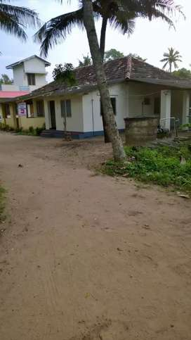 Independent tiled house with car park for Rent at Pallithottam,