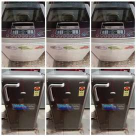 Fridge YEAR WARRANTY WITH DELIVERY WASHING MACHINE,6500 /- DELIVERY