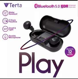 TWS TETRA PLAY Baru banget beli. Earphone wireless bluetooth headset