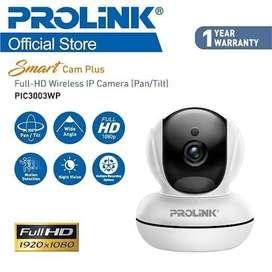 NEW PROLINK PIC3003WP Full HD 1080P Smart Wi-Fi Pan - Tilt IP Camera