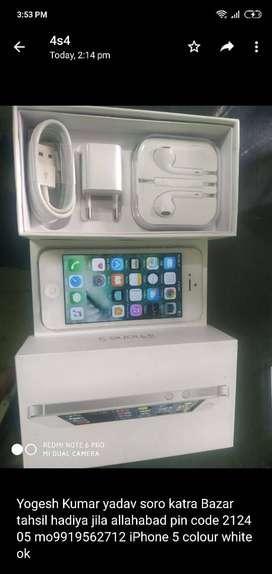 Iphone 5 16gb atrractiive look