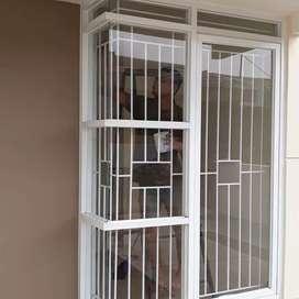 Tralis jendela daerah karawaci