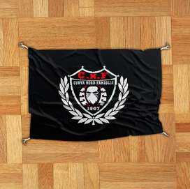 tempat bendera kain bijian giantflag umbul2 spanduk kirim se Indonesia
