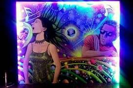 mural lukis glow in the dark