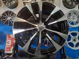 Jual velg replika ring 15x7 pcd 4*100/114 3 in agya