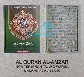 Al Quran non terjemah warna ukuran A4 dan A5 (Solo)