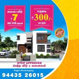 Plots Sales in Salem-Tiruchengode Highway