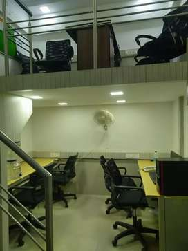 furnished office available at high street mall