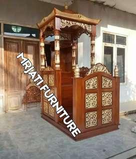Mimbar masjid mimbar podium Mimbar musholla