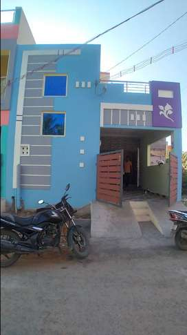 2 bhk independent house for sale in kovur - 54 lakhs