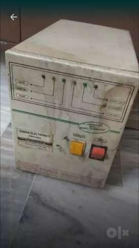 Inverter for 2 battry