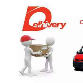 Delivery Boys with valid lisence.