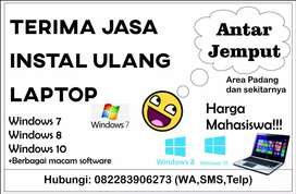 Terima jasa instal ulang laptop