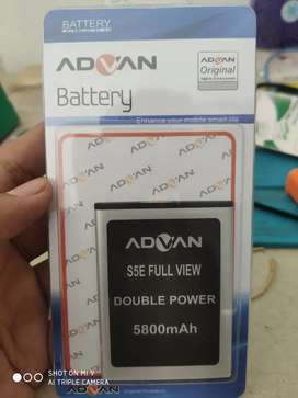 Baterai Advan S5E Full View