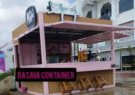 Booth usaha, booth kedai, booth cafe, semi container, booth minuman