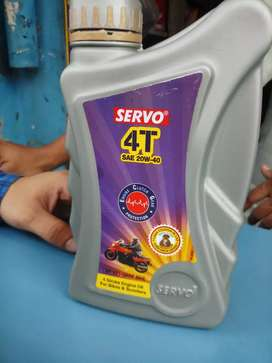 Lubricant all grades are available 4T 20w40