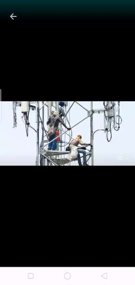 Rigger for telecom project