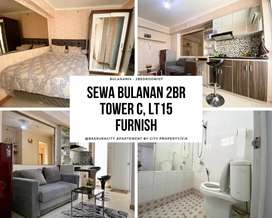 Sewa Bulanan di Bassura 2BR Furnish Lt.15 Tower C - 07VIA1022