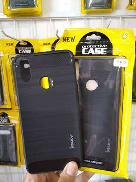softcase soft case ipacky carbon hitam tebal casing (sinar kita)