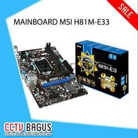 MAINBOARD MSI H81M-E33
