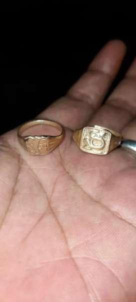Cincin temuan di jamin original kuno