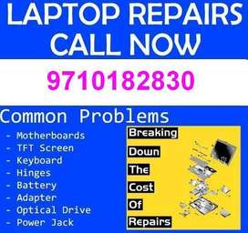 Laptop Battery, Keyboard, Display, Hard Disk Service & Replacement