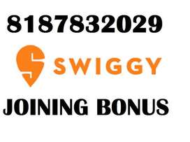 SWIGGY DELIVERY PARTNER JOBS EARNING UPTO 30000/- IN MONTH _