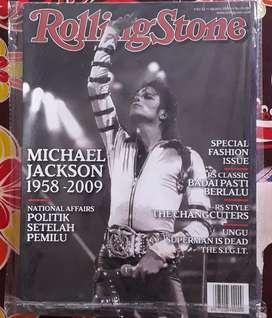 Majalah rollingstone cover Michael jackson
