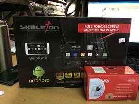 Paket TV Mobil Android 10inch Skeleton+Kamera Mundur FREE Masang